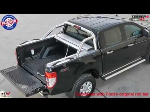 Ford Ranger (Limited) 2012+ roller lid shutter
