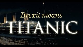 Brexit: A Titanic Disaster | Comedy Central UK