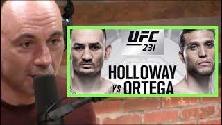 Joe Rogan on Max Holloway vs. Brian Ortega