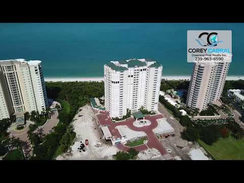 Bay Colony Carlyle Naples Florida 360 degree video fly over