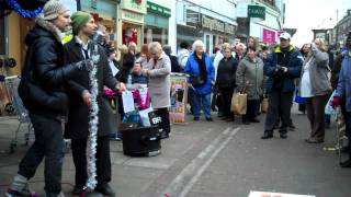 The Dualers   'Beautiful Stranger'   Last Romford Busk