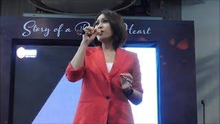 Aksi Panggung Tata Janeeta Ramaikan Panggung Peluncuran Album Kompilasi