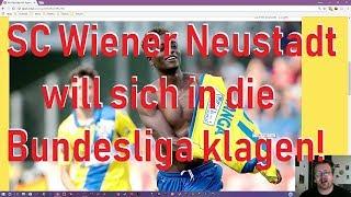 Wiener Neusdtadt KLAGT Wegen David Atanga