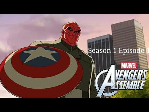 Marvel Avengers Assemble 'hindi' (Season 1, episode 1) - The Avengers Protocol Part 1 HD