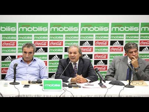 Equipe d'Algérie : Le Zapping de la 1ere conférence de presse de Rabah Madjer