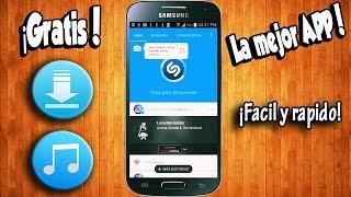 Como Descargar Musica Gratis En Android! La Mejor App!!