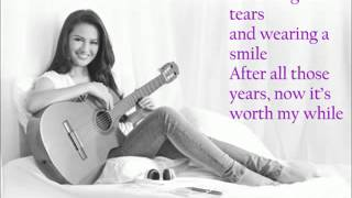 Glad it's Over by Julie Anne San Jose (lyrics)