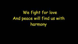 Never Shout Never - Harmony Lyrics.wmv