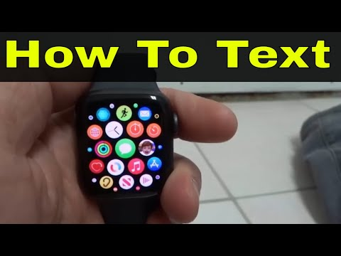 How To Text On Apple Watch Series 6-Easy Tutorial