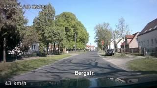 preview picture of video 'Autofahrt durch Velten'