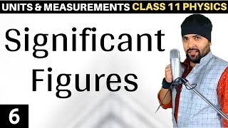 Significant Figures Units and Measurements Class 11 IIT Jee Mains