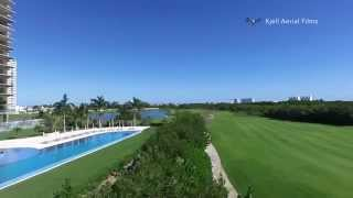 preview picture of video 'Campo de Golf Puerto Cancun'