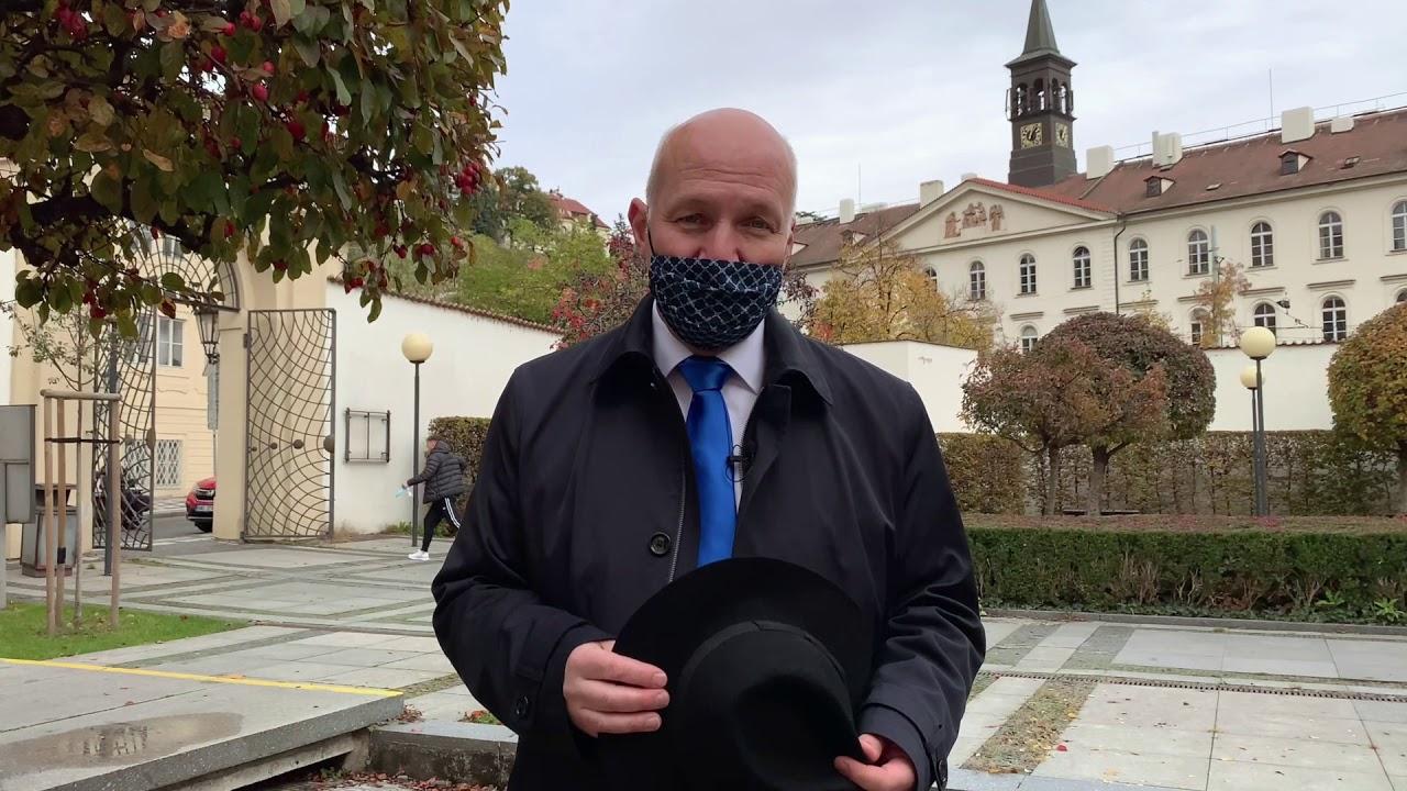 Přání Pavla Fischera k výročí vzniku samostatného československého státu