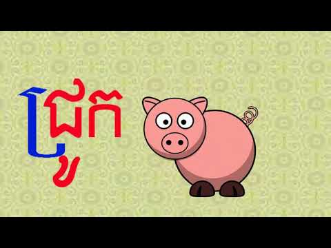 Learning Khmer | Spelling Word with Pictures