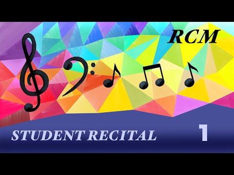 Student Recital, May 9, 12:00PM