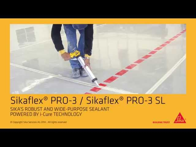 instructievideo Sikaflex Pro-3 600ml