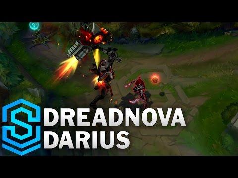 Dreadnova Darius Skin Spotlight - League of Legends
