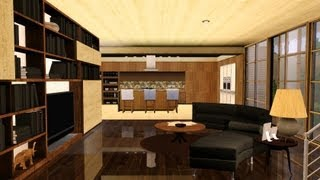 Sims 3 Modern Hollywood house - 1080p slideshow
