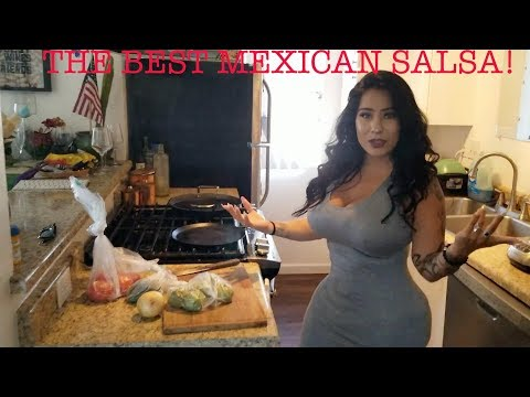 THE BEST MEXICAN SALSA RECIPE!