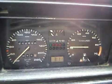 Der Aufwand des Benzins bei Mercedes
