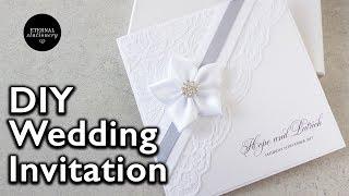 How To Make An Elegant Lace Invitation | DIY Wedding Invitations | Eternal Stationery