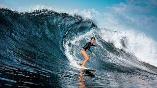 Beginilah Keseruan Bermain Surfing Di Krui Pesisir Barat Lampung Tak kalah Indahnya Dari Bali
