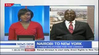 Kenya Airways announces direct flights from Nairobi to New York
