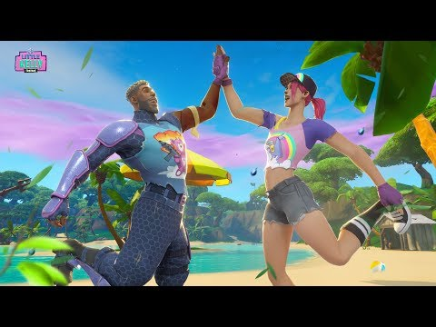 BEACH BOMBER AND HER BROTHER ARE REUNITED   Fortnite Short Film