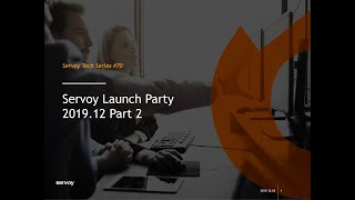 Servoy 2019.12 Launch - Part 2 - Extensions