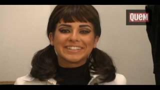 Fernanda Paes Leme posa de Audrey Hepburn para a QUEM