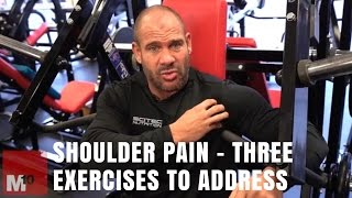 Shoulder pain - Three exercises you need to address   Kholo.pk