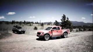 2010 Ford F-150 SVT Raptor at the Deer Hill Rally