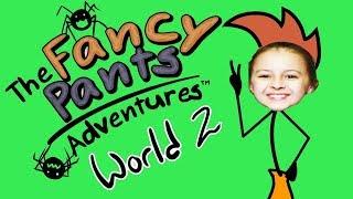 ЗЛОЙ КАРАНДАШ Приключения Нарисованного Человечка Видео для детей The Fancy Pants от KIDS GAMES SHOW