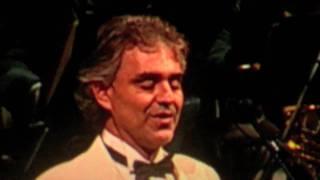 "Andrea Bocelli - ""White Christmas"" MSG My Christmas 12/2/10 HD"