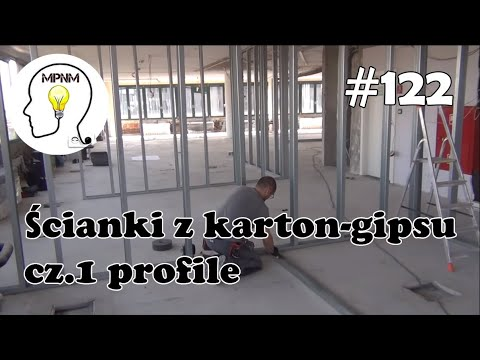 #122 - Ścianki z karton-gipsu - cz.1 profile