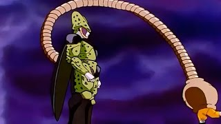 Cell Absorbe a Goku