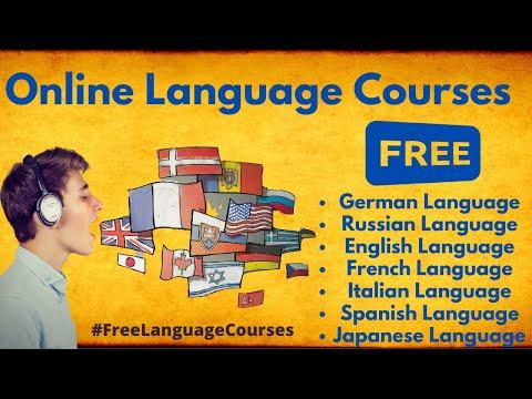 Free Language Courses Online || Foreign Language Courses ...