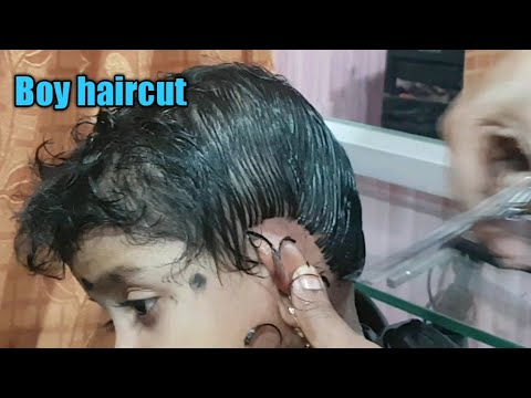 Boy haircut/ Kids haircut tutorial/baby, boy haircut/how to cut boy hair