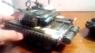 Лего танк