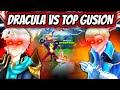 DRACULA FACES A TOP GLOBAL GUSION! 100% EPIC BATTLE! | MOBILE LEGENDS