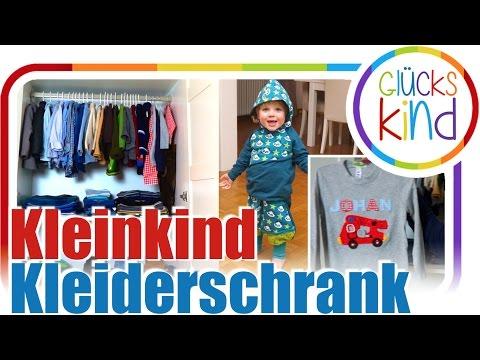 Aufteilung, Inhalt, Wäschechaos | Johan's Kleiderschrank | Kleinkind 3 Jahre | Das Glückskind