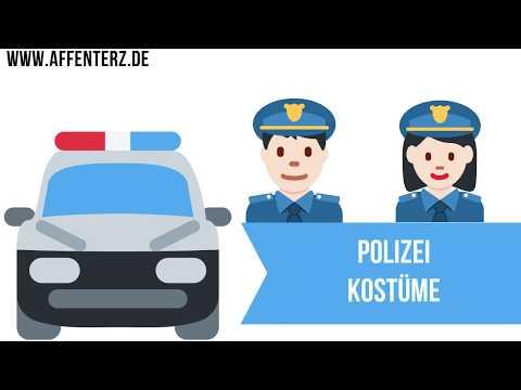 Faschingskostüme Kinder Polizei - Als kleiner Ordnungshüter zur Faschingsparty