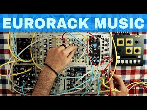 eurorack modular synth jam quantizer fold processor maths z8000 morphagene tempi vcf 74 etc. Black Bedroom Furniture Sets. Home Design Ideas