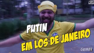 Neymar e Putin na SANDERUS mais realista de todas
