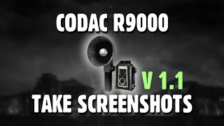CODAC R9000 Take Screenshots
