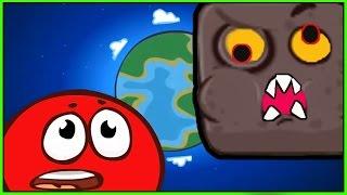 RED BALL 4 КРАСНЫЙ ШАРИК Часть 1 Босс ВЗОРВАЛСЯ Видео детские игры как смешные мультики kids games