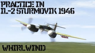 Practice in IL-2 Sturmovik 1946: Westland Whirlwind.