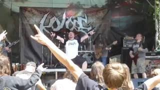 Koloss  part 1/1 live Czech Death Fest vol.8