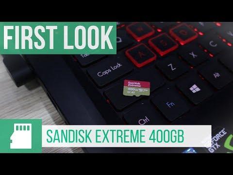 SanDisk 400GB Extreme UHS-I microSDXC-Karte #MWC2018
