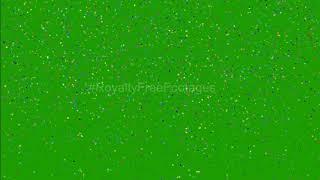 confetti green screen | confetti green screen background video | gold confetti falling green screen
